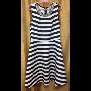 Monteau Girl Striped Dress